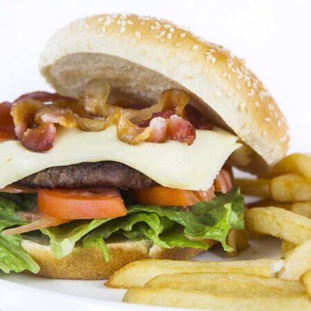 Rinconcito Burger and Fries